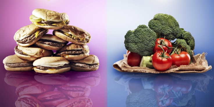 Difference between Healthy and Unhealthy Foods